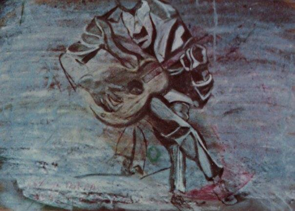 Robert Johnson Chalk Painting