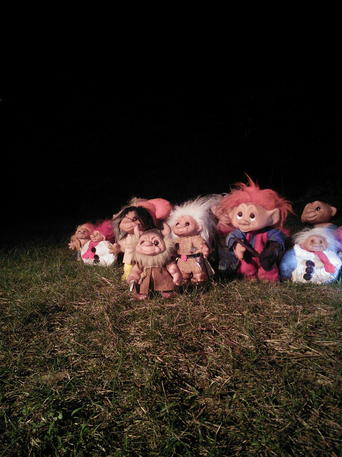 Troll Army at Night