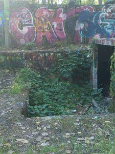 Brooksbrae oven entrance