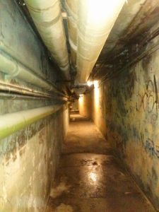 Salem state University Tunnel
