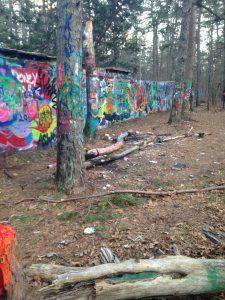 Brooksbrae Graffiti