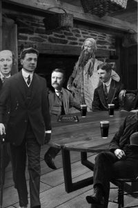 Mark Twain, Henry Sinclair, Teddy Roosevelt, and Nikola Tesla
