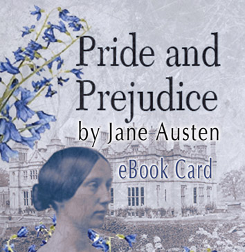 Pride and Prejudice eBook Card