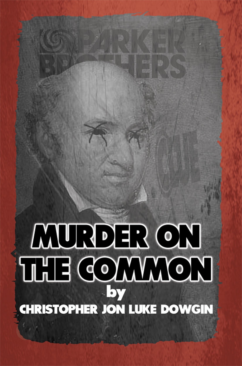 Murder on the Common cover cover