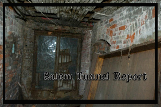 Salem Tunnel Report header with background of a tunnel